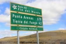 Chegando na Tierra Del Fuego