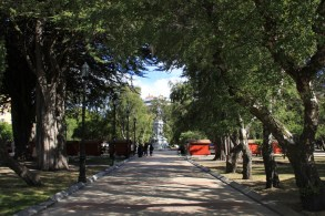 Plaza de Armas, no Centro de Punta Arenas