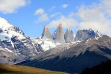 Em destaque, as Torres del Paine, Chile