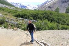 Parada no acampamento Las Torres