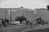 O povoado abandonado de Chuquicamata