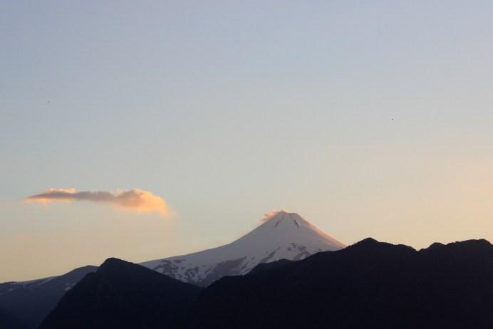 Fim de tarde, Vulcão Villarica