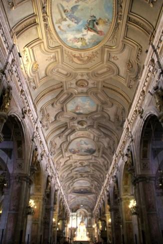 Belíssima construção da Igreja Catedral, Santiago