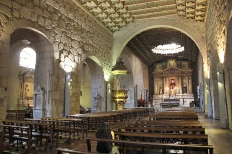 A igreja é um dos monumentos arquitetônicos mais antigos do Chile, inaugurada em 1618