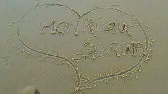 Na Praia dos Amores!