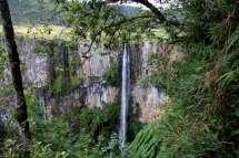A Cachoeira do Avencal é a mais bela da região e uma das mais bonitas do Brasil