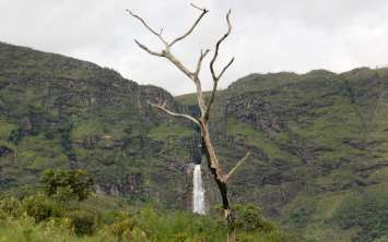 A primeira vista da Cachoeira Casca D'anta