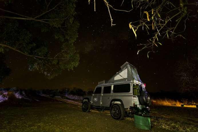 Testando o teto móvel no interior de Minas Gerais