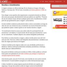 Entrevista Revista Exame 2
