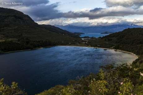 Lago Bertrand, Carretera Austral
