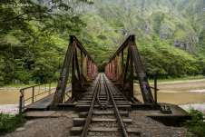 Uma das pontes pelo caminho