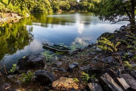 Meio de transporte principal dos nicaraguenses que habitam as Isletas de Granada
