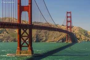 À caminho da Golden Gate Bridge
