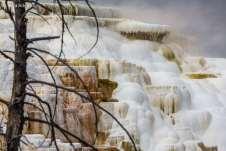 Mammoth Hot Springs, um dos lugares mais impressionantes do Parque