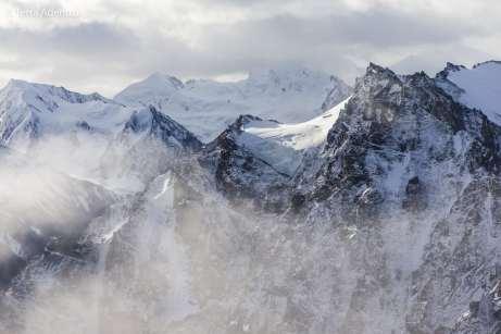 Algumas das montanhas mais altas da América do Norte ficam dentro do Kluane National Park