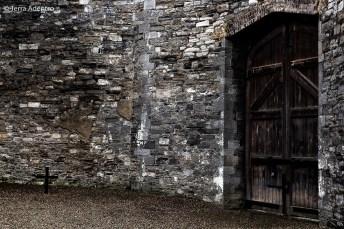 As paredes de pedra das construções da prisão fazem a temperatura lá dentro ser ainda mais fria!