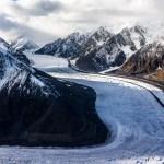 Aerial photography Glaciar