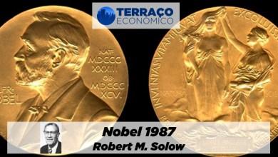 Photo of Nobel 1987: Robert M. Solow | por Luciano Sobral