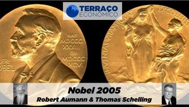 Photo of Nobel 2005: Robert Aumann e Thomas Schelling | por Maria Oaquim de Medeiros