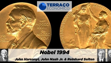 Photo of Nobel 1994: John C. Harsanyi, John F. Nash Jr. e Reinhard Selten | por Michael Sousa