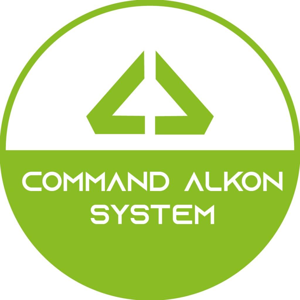 Concrete Batching Plant Brochure Logo Command Alkon System