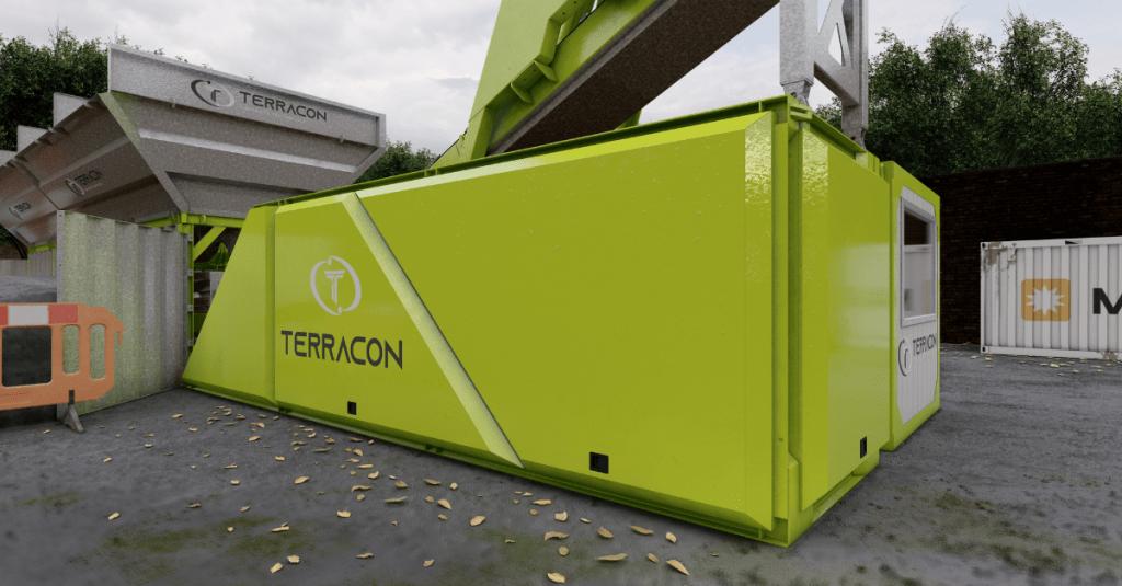 Terracon Command Centre Concrete Batching Plant Modular