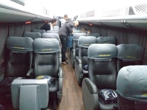 Interno degli autobus