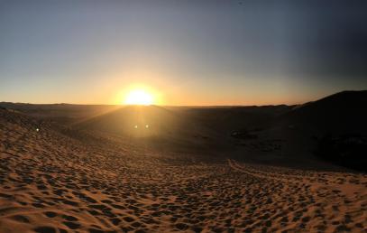Tramonto sulle dune