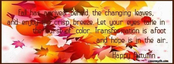 Welcome Fall! | Terra Crest Property Management