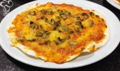 Pizza de ceps