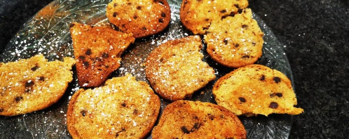 receta de cookies de chocolate y cacahuete