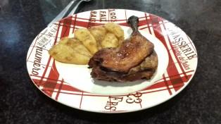 Receta de pato con peras