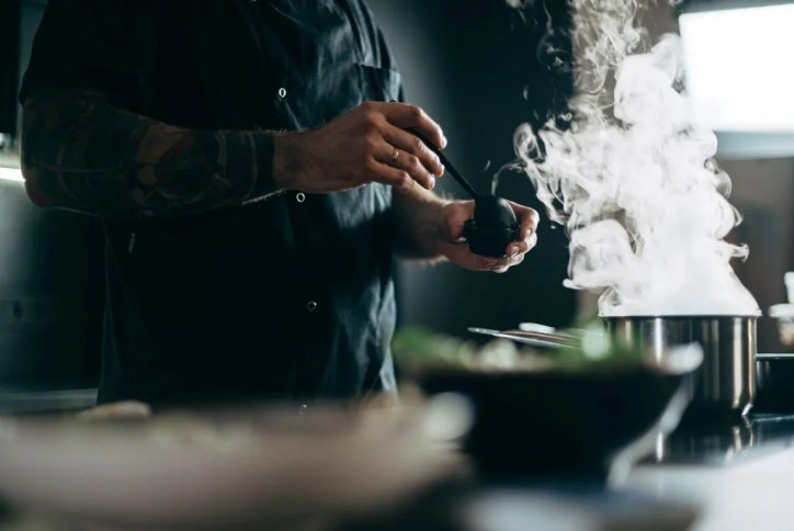 Derechos de los becarios en cocina