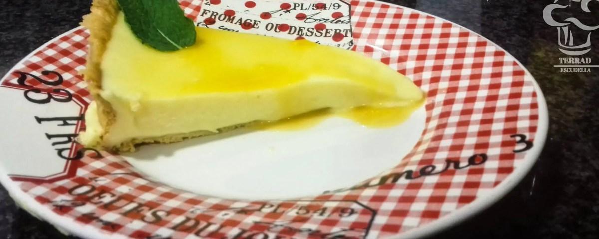 Receta de pastel exótico de mango