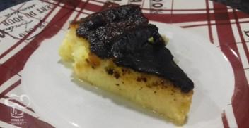 Tarta de queso vasca