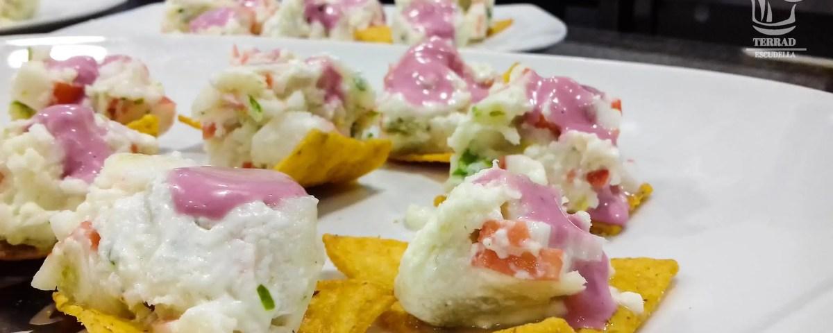 Ver receta de Terrina de pescado y cangrejo