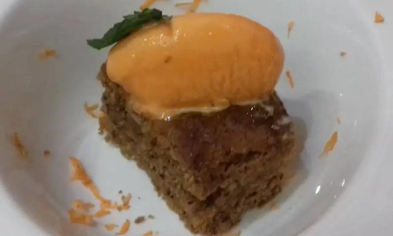 Receta de Carrot cake de coco