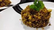 Receta de arroz pilaf con pollo y coliflor