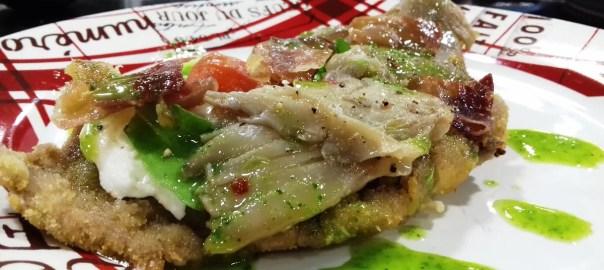 Receta de pizza de escalopa