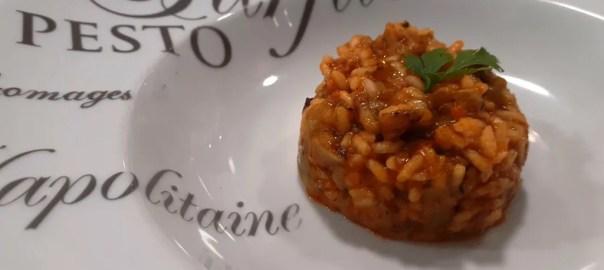 Receta de risotto de sobrasada