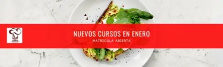 Nuevos cursos de cocina en enero