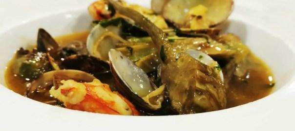 Receta de alcachofas en salsa verde