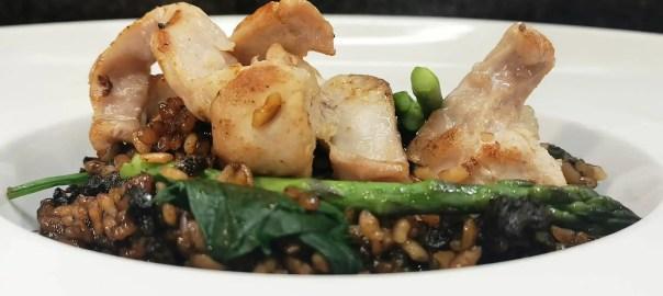 Receta de arroz con conejo y morcilla