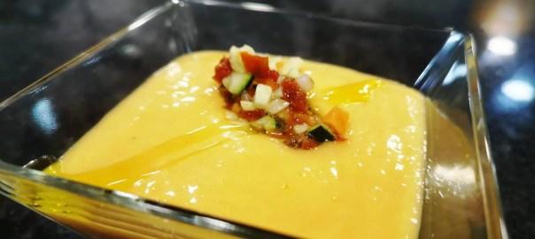 Receta de gazpacho de mango