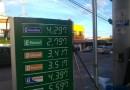 Gasolina subiu de novo e já passa de R$ 4,30 em Pouso Alegre