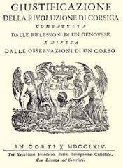 CORSICA LIBRO GIUSTIFICAZIONE
