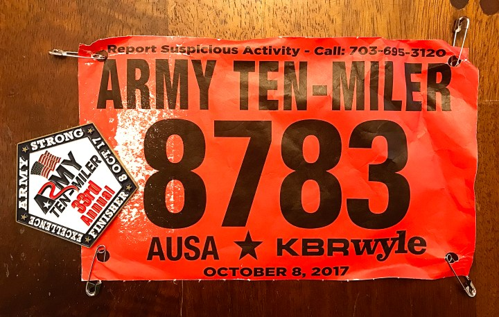 Running the Army Ten-Miler