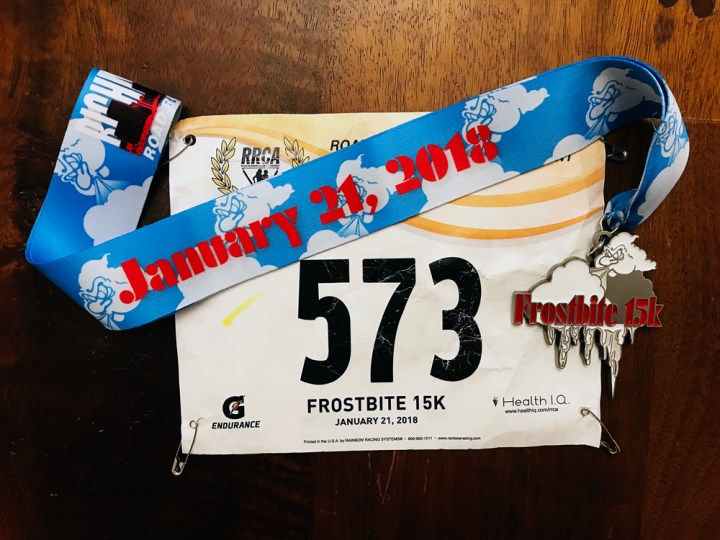 Running Richmond's Frostbite 15K