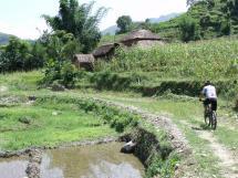riding rural Nepal