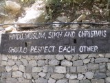 Hindus, Muslim, Sikh and Christians should respect each other